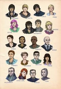Los personajes principales