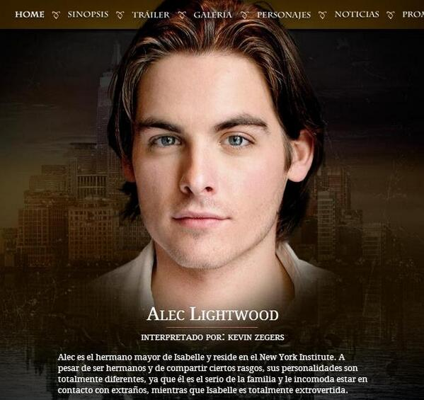 Cazadores de Sombras.F... Jamie Campbell Bower And Kevin Zegers