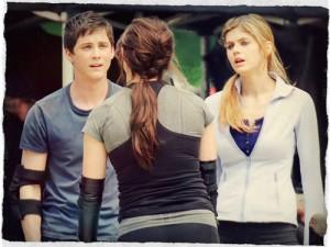 Percy, Anabeth y Clarisse