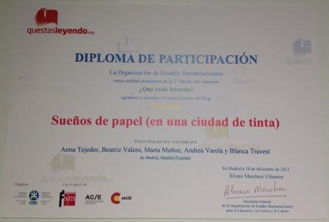 ¡El diploma!