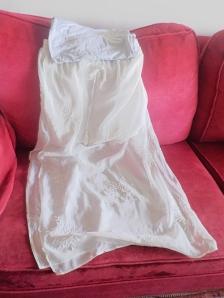 Camiseta básica de Zara y falda larga de Zara (2014)