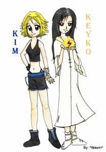 las hijas de tara dibujo