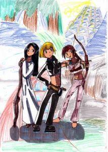 las hijas de tara dibujo2