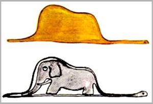 principito boa elefante
